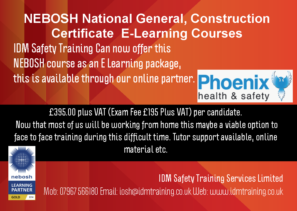 managing safely course in Tuddenham